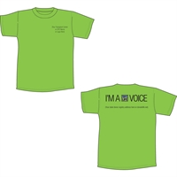 Picture of Transplant Center Voice T-Shirt