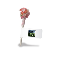 Picture of Lollipop with Flag- Donate Life