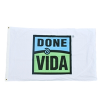 Picture of 3' X 5' Done Vida Flag - Bulk