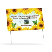 Picture of NDLM 2016 Double Sided Yard Sign