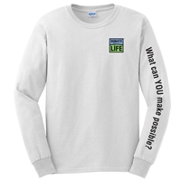 Picture of Long Sleeve 100% Cotton What Can You Make Possible T-shirts