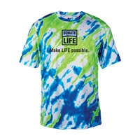 Picture of Performance TieDye T-shirt with Tagline