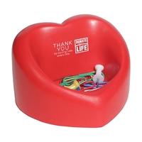 Picture of Heart Desktop Bin