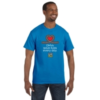 Picture of DMV Appreciation T-shirt with Full Color Donate Life Logo