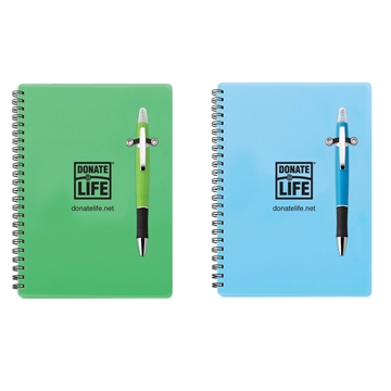 Picture of Spiral Notebook with Pen/Highlighter Combo