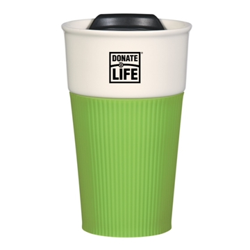 Picture of 13 oz. Ceramic Mug with Silicone Sleeve  - Bulk