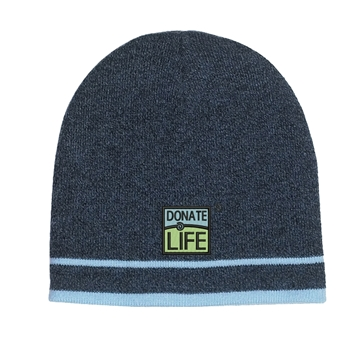 Picture of Knit Beanie with Double Stripe