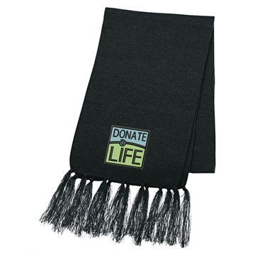 Picture of Knit Scarf with Tassels