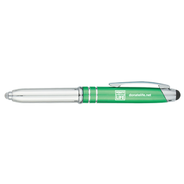 Picture of Ballpoint Stylus Pen with Light