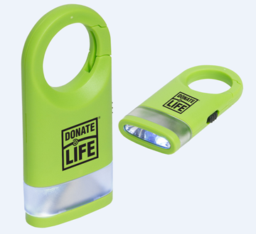Picture of Dual Shine LED Light Carabiner