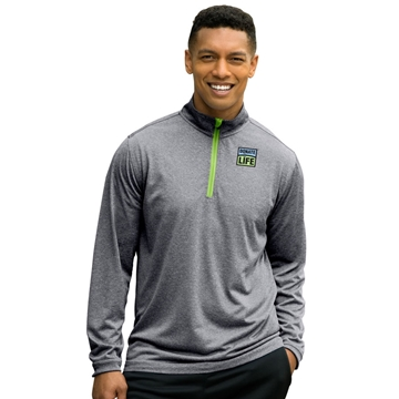 Picture of Men's 1/4 zip Performance Pullover