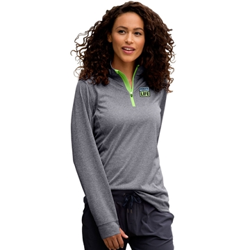 Picture of Ladies' 1/4 zip Performance Pullover