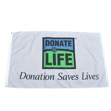 Picture of 5' x 8' Donation Saves Flag - Bulk