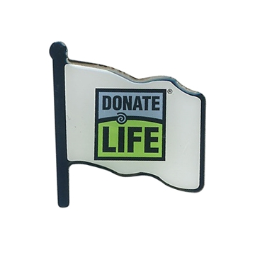 Picture of Lapel Pins  - Donate Life Flag - 100/pk