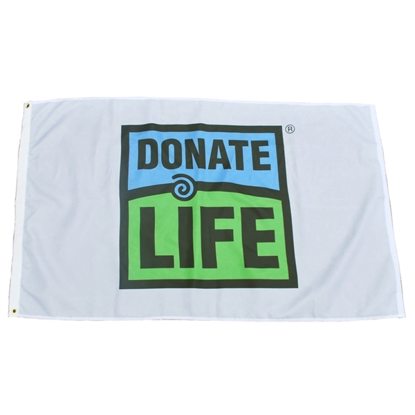 Picture of 3' x 5' Donate Life Flag - Bulk
