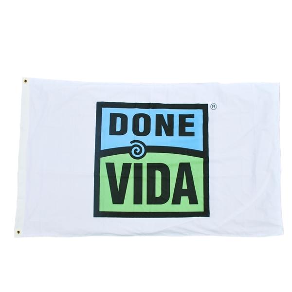 Picture of 3' x 5' Done Vida Flag - Bulk