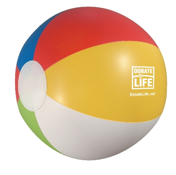"Picture of 12"" Rainbow Beach Ball"