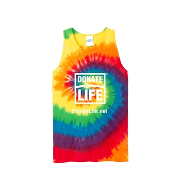 Picture of Rainbow Tie Dye Tank Top