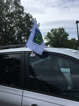 Picture of Donate Life Car Flag- Bulk