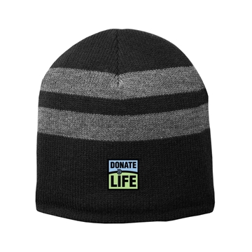Picture of Fleece Lined Stripe Beanie
