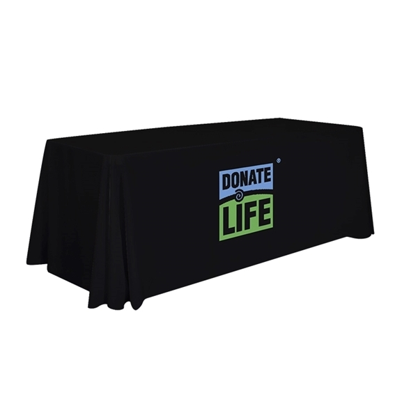 Picture of 6' Standard Dye Sublimated Table Cover