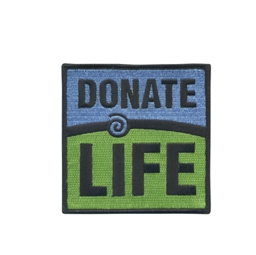 "Picture of Donate Life 4"" x 4"" Patch"