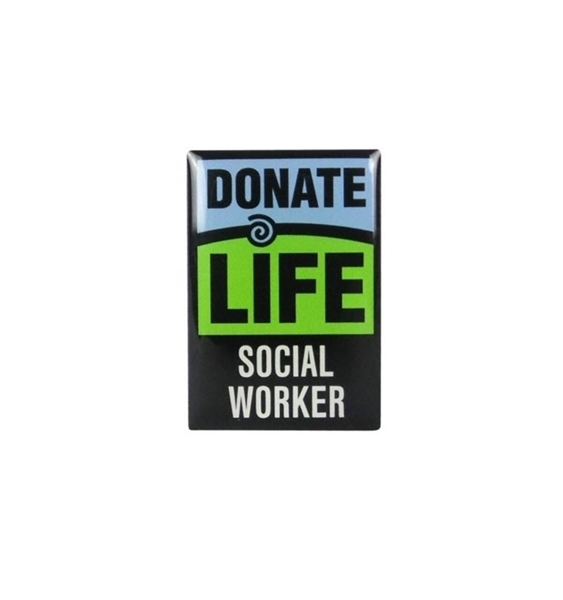 Picture of Donate Life Social Worker Lapel Pin