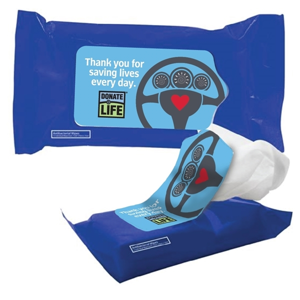 Picture of DMV Appreciation Antibacterial Wet Wipes