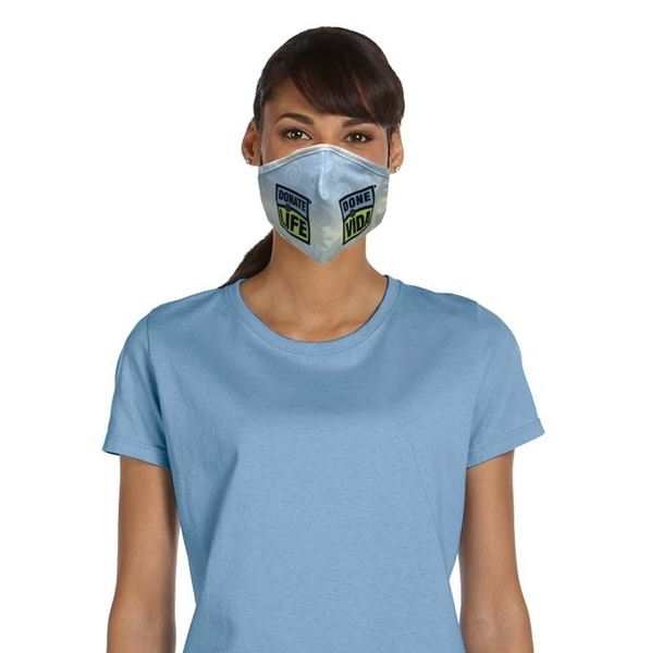 Picture of Donate Life-Done Vida 2-Ply Face Mask-Bulk