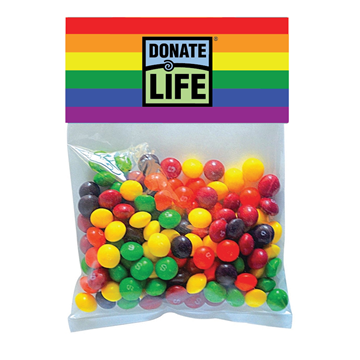 Picture of Rainbow Skittles in Large Header Pack