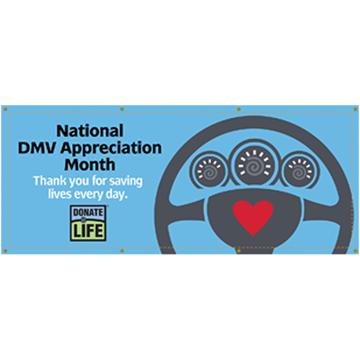 Picture of DMV Appreciation Vinyl Scrim Banner